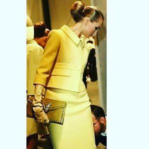 Vintage Yellow Bouchel Suit